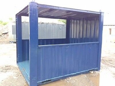 10ft x 8ft Anti Vandal Container smoking shelter hut steel best value