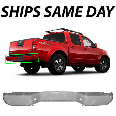 NEW - Primered Grey Steel Rear Bumper Shell for 2005-2017 Nissan Frontier 05-18
