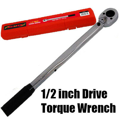 "1/2""-3/8"" Torque Wrench Drive Socket Converter Ratchet With Micrometer U35"