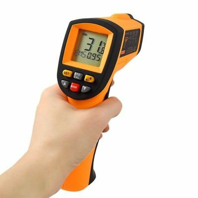 Infrared Thermometer Digital Pyrometer IR Non Contact Temperature Laser