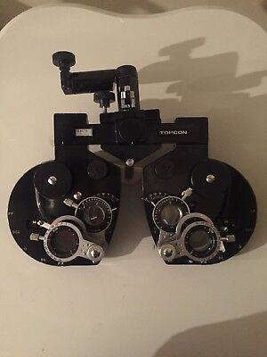 Topcon VT-D5 Phoropter Vision Tester,  good condition (  parts only )