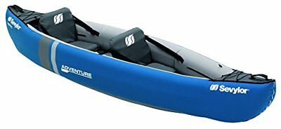 Sevylor Canoa Adventure (2 P) - Canoa Adventure (2 P), color azul, talla No