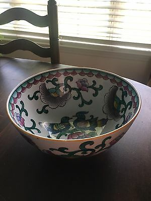 Rare Vintage Hand painted Made In China Bowl