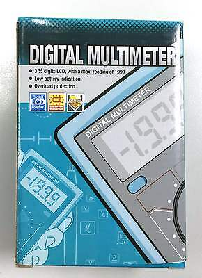 Digital LCD Display Multimeter MM830E Electrician Circuits Overload Protection