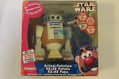 "Star Wars (Artoo-Potatoo with Princess Tater)  ""2006"" Mr Potato Head Playskool"