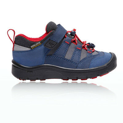 Keen Hikesport Junior Red Blue Waterproof Hiking Camping Shoes Trainers