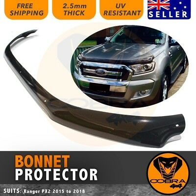 Ford Ranger Bonnet Protector 2015 2016 2017 Tinted Guard