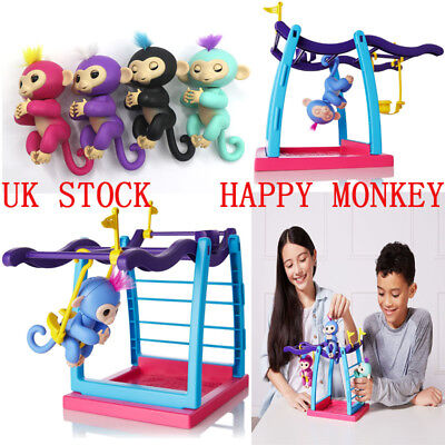 Original WowWee Fingerlings Electronic Interactive Finger Toys Baby Monkey Pets