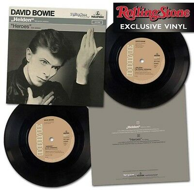 DAVID BOWIE Rolling Stone GERMANY October 2017 magazine exclusive HEROES vinyl