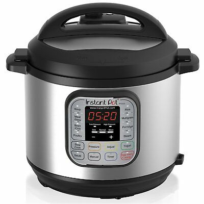Instant Pot DUO60 6 Qt 7in1 MultiUse Programmable Pressure Cooker, Slow Cooker,