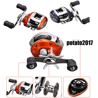 New 12+1BB 6.3:1 Saltwater Baitcasting Fishing Reel Bait Casting Magnetic Brake