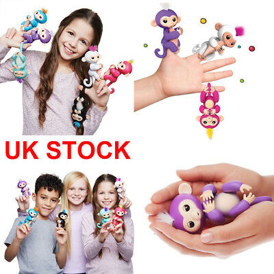 WowWee Fingerlings Baby Monkey Electronic Interactive Toy Robot Pet Kids Gifts
