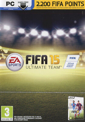 FIFA 15 Ultimate Team - 2200 FUT Points Card IT IMPORT ELECTRONIC ARTS