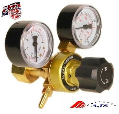 NEW Gas bottle regulator CO2 Argon Mig Tig Welding Regulator 0-315 bar