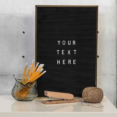 Jay Peg Letter Board Changeable Letter Board Message Vintage Large A3  Letters