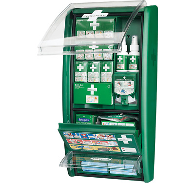 Cederroth First Aid & Burns Station - Ideal for Hotels, Kitchens, Restaurants