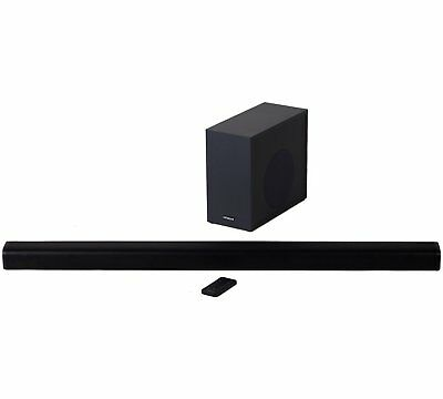 Hitachi 240W 2.1Ch Sound Bar with Wireless Subwoofer