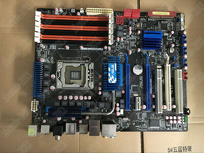 1PC used ASUS P6T SE X58 motherboard 1366 needle