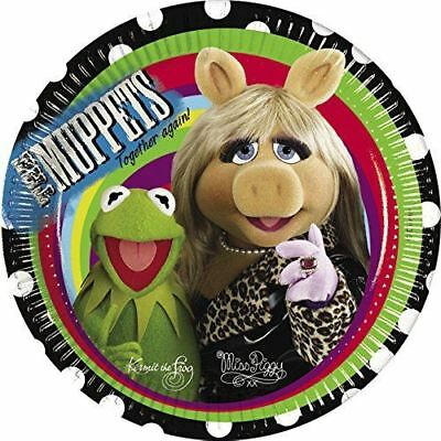 Amscan The Muppets Together Again Plates.23Cm Pk of 10