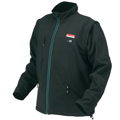 Makita LXT 18V Li-Ion Heated Jacket (Black) - X-Large DCJ200ZXL (Bare) New