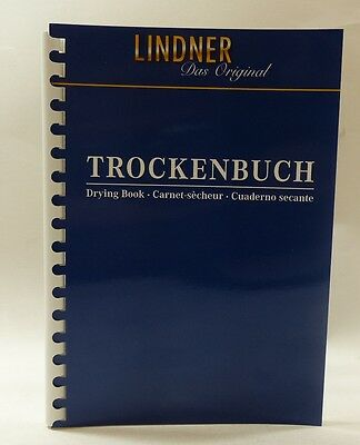 Lindner stamp drying book - A5 size 10 pages ref 846