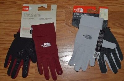 The North Face Etip Glove Powered Touch Screen Men Women's Unisex M L XL New $45