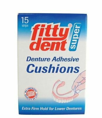 FITTYDENT ADHESIVE CUSHION 15pcs/pkt