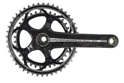 NEW Campagnolo CX Carbon Power-Torque 10 Speed 36/46 cyclocross Crankset 172.5mm