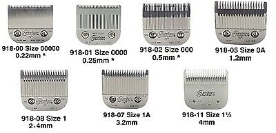 Oster 97 (Oster 76) Clipper Blade Heads Attachments Available In All Sizes