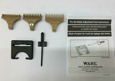 Wahl Trimmer Comb Attachments 0.5, 1 & 1.5 (Fits Detailer, T-Pro, Bling & Hero)