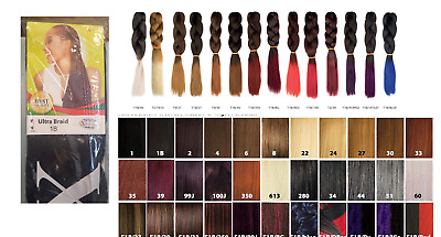 X-Pression (Xpression) Ultra Hair Braid (Braiding) Extension (Choice Of Colours)