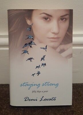 Staying Strong by Demi Lovato Book