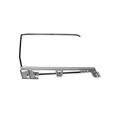67 68 Mustang Convertible Door Window Frame Kit - Right Side