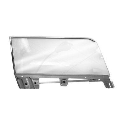 1967 - 68 Mustang Coupe Door Window Glass Assembly - Right / Passenger Side
