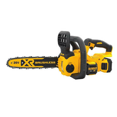 DEWALT DCCS620P1 20-Volt MAX Li-Ion Brushless Compact Chainsaw Kit