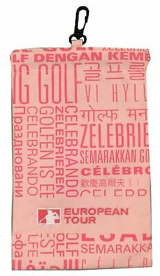 RARE - European Tour Golf Valuables Pouch / Tote Bag Accessories Bag - RRP£15
