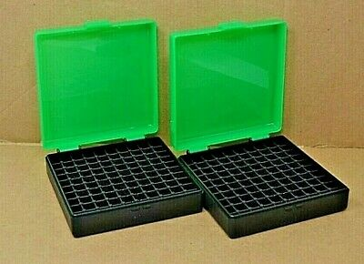 ZOMBIE GREEN COLOR BERRY MFG 9 MM // 380 AMMO BOXES // STORAGE 10