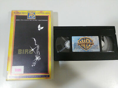 Bird Clint Eastwood Forest Whitaker Vhs Cinta Tape Coleccionista Castellano