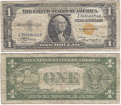 1935 A $1 North Africa Silver Certificate Very Good FR 2306