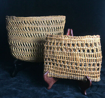 Two Grand Ronde Baskets NWC Native American