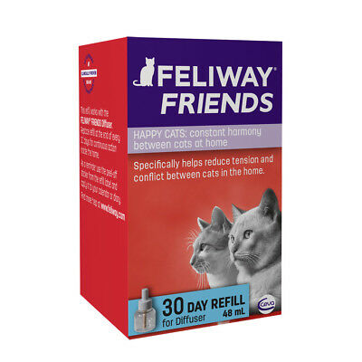 FELIWAY FRIENDS DIFFUSER 30 DAY REFILL 48ml For Pheromone Diffuser - BEST PRICE!