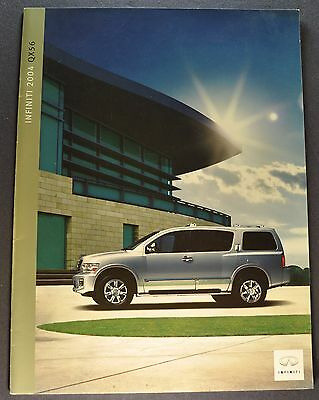 2004 Infiniti QX56 Catalog Sales Brochure Excellent Original 04
