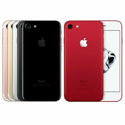 Apple iPhone 7  32/128/256GB UNLOCKED  Jet Black, Rose Gold, Silver, Red, Black