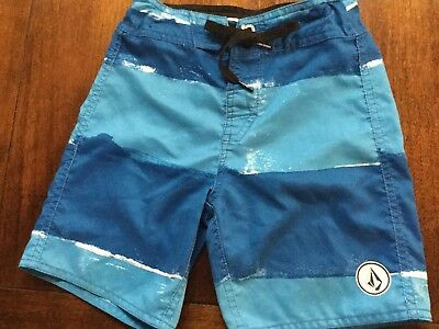 Boys Volcom swim trunks, size 5