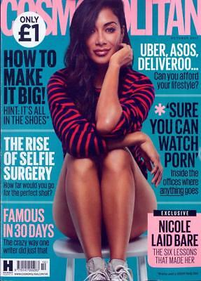 Cosmopolitan UK Magazine October 2017 - Nicole Scherzinger