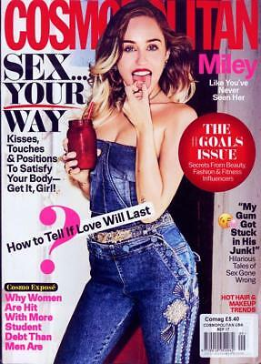 Cosmopolitan USA Magazine September 2017 - Miley Cyrus