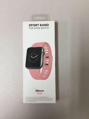 Sport Band - Silicone Sport Band for Apple Watch ® 38mm - Pink WESC03807