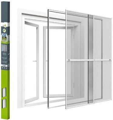 easylife Insect protection double sliding door ALUMINUM 230x240 cm white