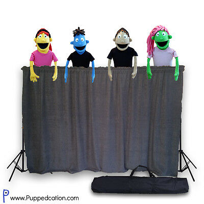 Classroom Puppet Stage - Portable Tripod Puppet Theater w/BAG | Stage, Ministry