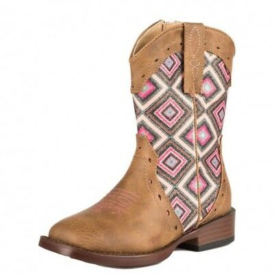 Ariat Roper Geo Boots Kids Horse And Equestrian